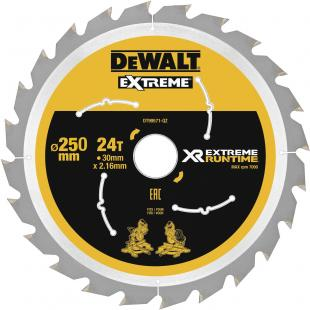 XR FLEXVOLT 250 mm Blade for Cordless Mitre Saw