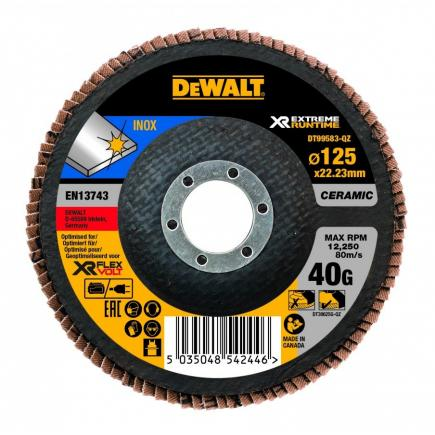 XR FLEXVOLT Flap Disc 125mm