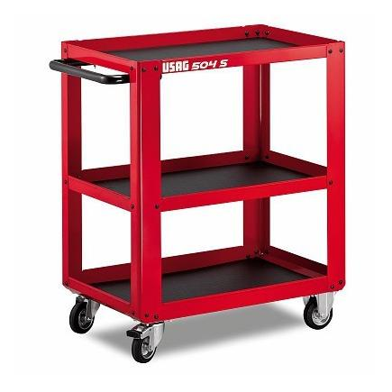 MULTI-PURPOSE ROLLER CABINET WITH 3 SHELVES