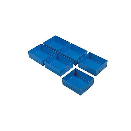 Assortment of plastic trays