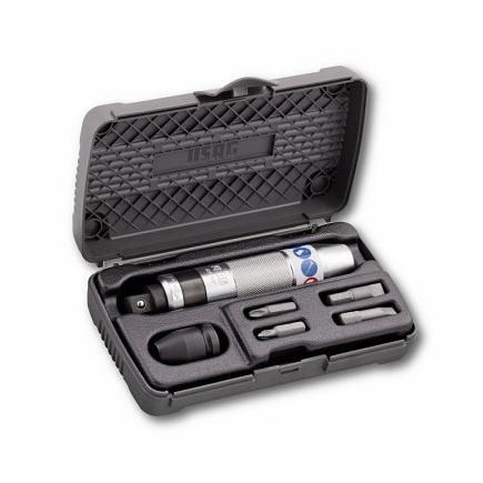 ASSORTMENT WITH IMPACT SCREWDRIVER IN ABS CASE (6 PCS.)