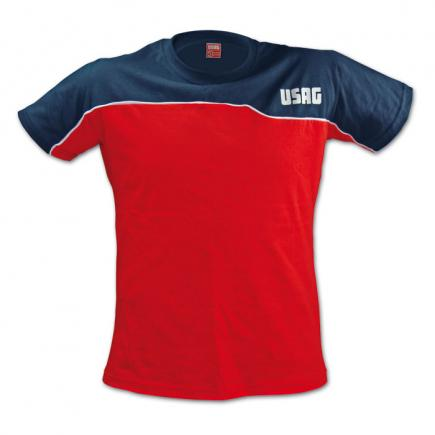Red/blue T-shirt