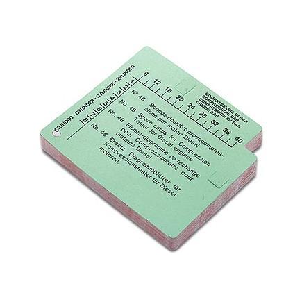 Test cards - diesel (50 pcs.)