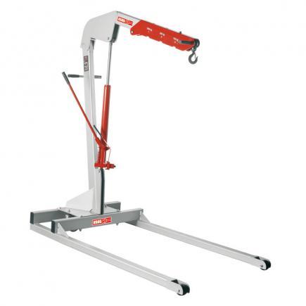 Folding workshop crane