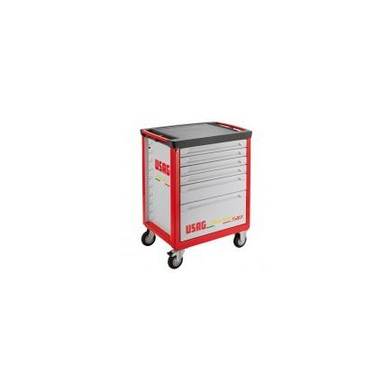 Roller cabinet with assortment 495 I1 for industrial maintenance (83 pcs.)
