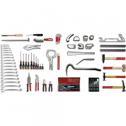 Assortment for body repair (88 pcs.)