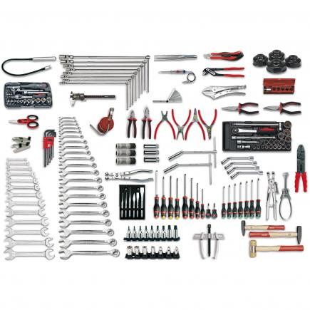 Assortment for car repair (198 pcs.)