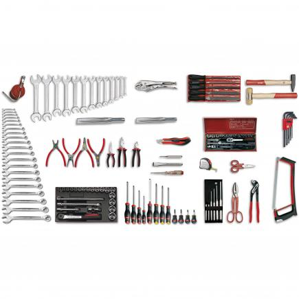 Assortment for industrial maintenance (128 pcs.)