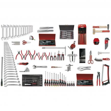Assortment for industrial maintenance (153 pcs.)