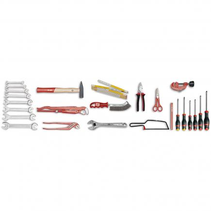 Assortment for plumbers (25 pcs.)