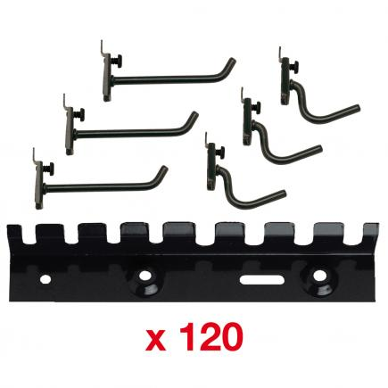 Kit with hooks and supports for cabinet 502 A2 (120 pcs.)