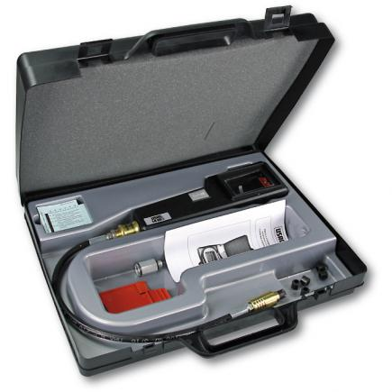 Compression tester for petrol engines