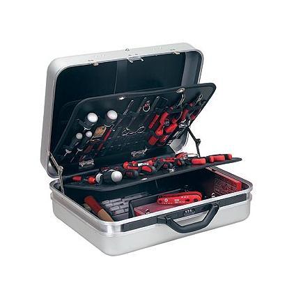 Valigia portautensili con assortimento 496 H2 per elettrotecnica (87 pz)