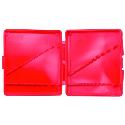 Empty plastic wallet