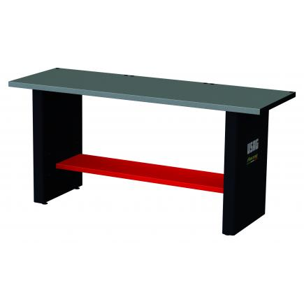 RACING workbench with sheet steel top