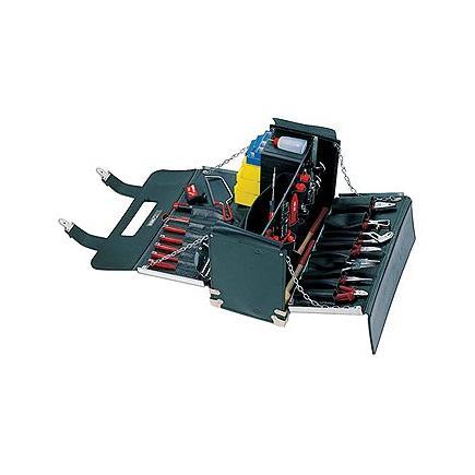 Borsa portautensili con assortimento 496 H per elettrotecnica (94 pz)