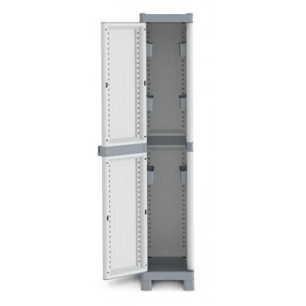 1 Door Outdoor Cabinet 35x43,8x181,8 - 6 bins