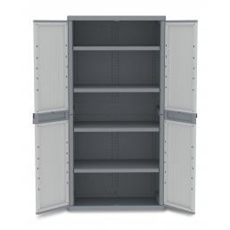 Wave Jumbo 2900 - 2 Doors Cabinet 89,7x53,7x180 - 4 adjustable inner shelves