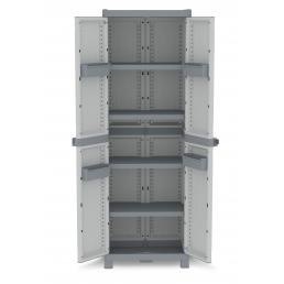 Wave XLVertical 210R - 2 Doors Cabinet 70x43,8x210 - 4 adjustable inner shelves - 4 bins