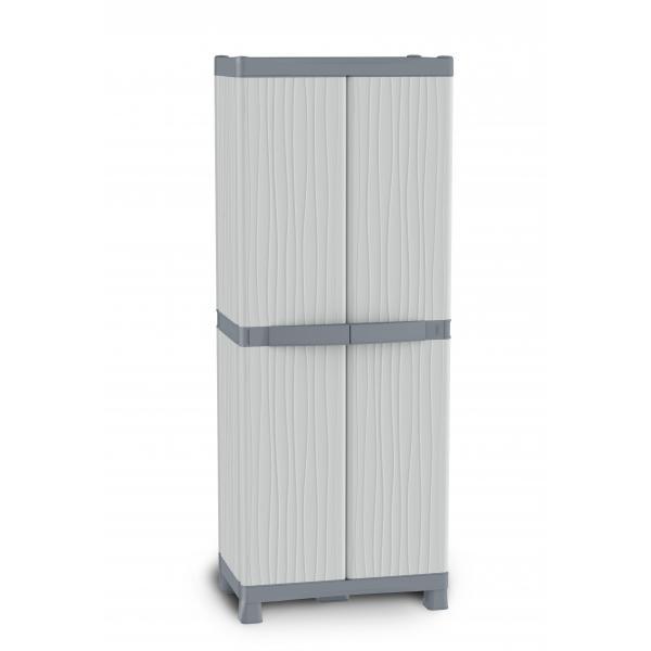 Wave Base 3700 - 2 Doors Cabinet 70x43,8x181,8 - 4 adjustable inner