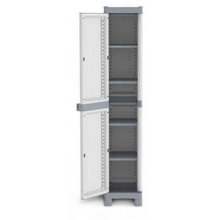 1 Door Outdoor Cabinet 35x43,8x181,8 - 4 adjustable inner shelves