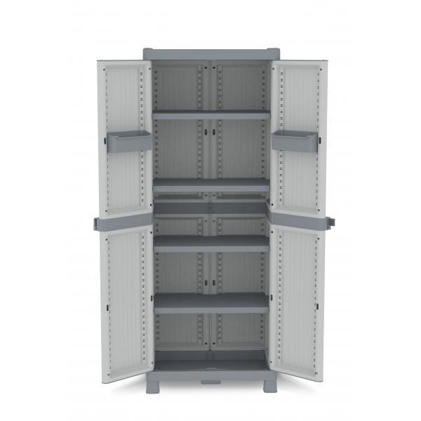 Wave Base 2700 - 2 Doors Cabinet 70x43,8x181,8 - 4 adjustable inner