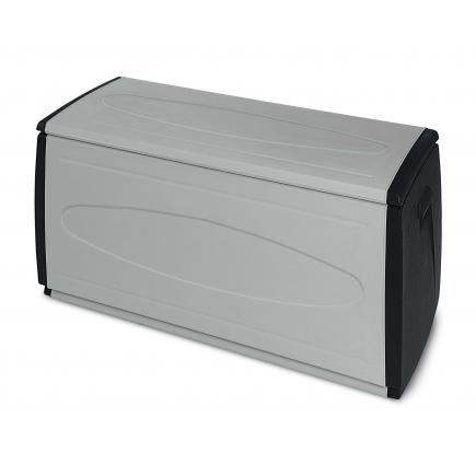 Multifuctional PVC container 308 l. 120x54x57 - 1 wheel Grey-black