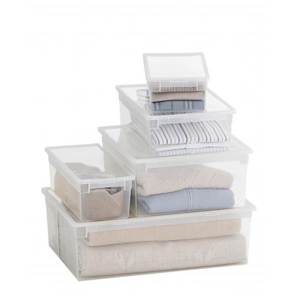 beh lter stapelbar mit deckel 12 lt. Black Bedroom Furniture Sets. Home Design Ideas