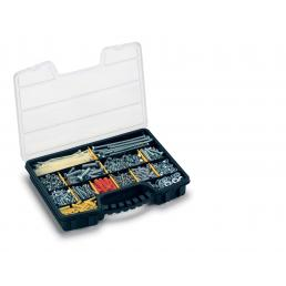 Pro Organizer 16 - Organizer with 15 movable dividers and integrated ergonomic handle