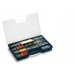 Pro Organizer 24 - Organizer with 15 movable dividers and integrated ergonomic handle