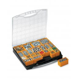 Bins Organizer 24 - Organizer with lid and 24 removable bins