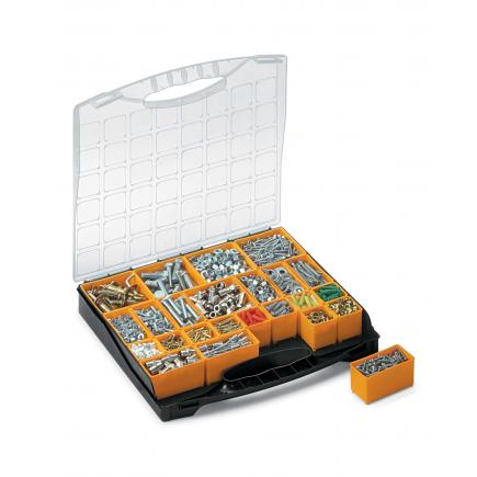 Plastic Organizer with lid and 24 removable bins