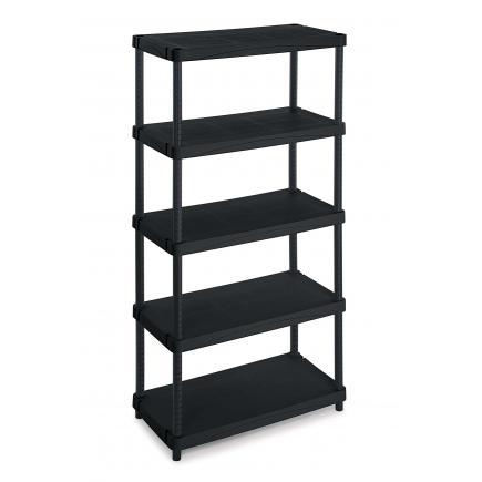 Modular outdoor resin 5 shelves unit 100x50x188