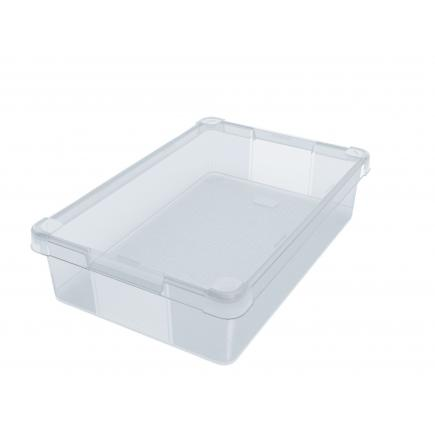 Multipurpose box 24 l. - Transparent