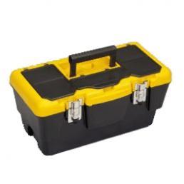 Meta Tool Box 19 - Portautensili piccola con vassoio e organizer sul coperchio