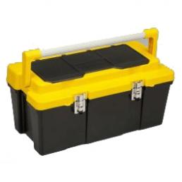 Meta Tool Box 26 - Big cantilever tool case with removable tray and organizers in the lid