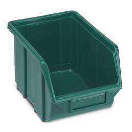 Plastic stackable small parts organizer 16x25x12,9