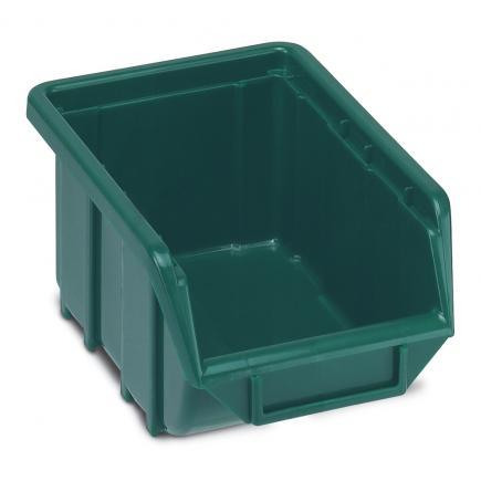 Plastic stackable small parts organizer 11,1x16,8x7,6