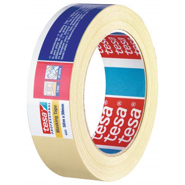 Tesa paper masking tape for universal use - Masking tape utilisation ...