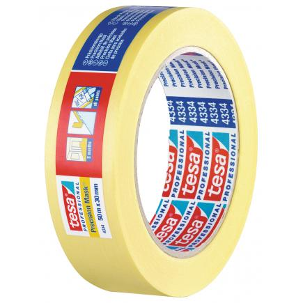 High Grade Paper Tape for high precision masking applications - Yellow
