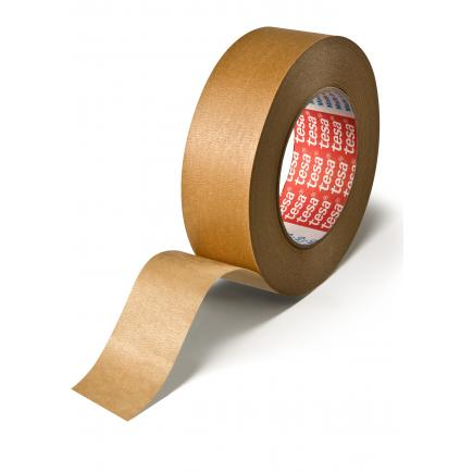 Temperature resistant masking tape for paint spraying followed by oven drying up to 140°C