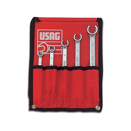 Set of 5 wrenches for connectors