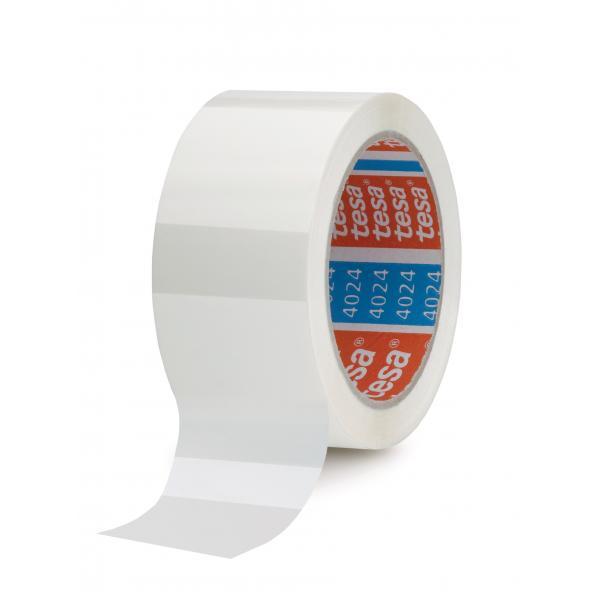 TESA 04024 - Nastro adesivo per imballaggio universale bianco
