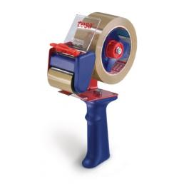 Manual dispenser for packing tapes