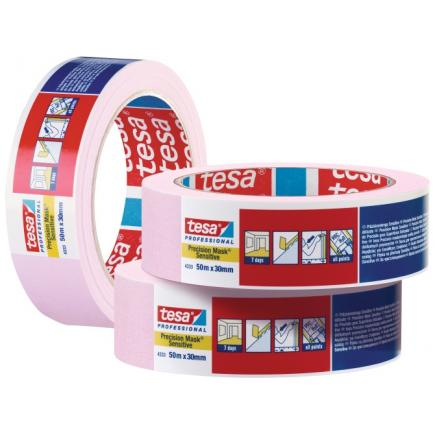 High Grade Paper Tape for high precision masking applications - Pink