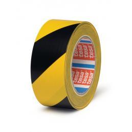 Nastro adesivo per marcatura pavimenti giallo/nero 33 mt x 50 mm