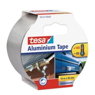 Aluminium Tape with liner for repairing purposes - 10 mt x 50 mm