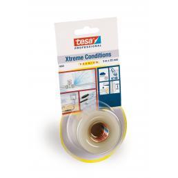 Xtreme Conditions Nastro adesivo in silicone autoagglomerante trasparente 3 mt x 25 mm