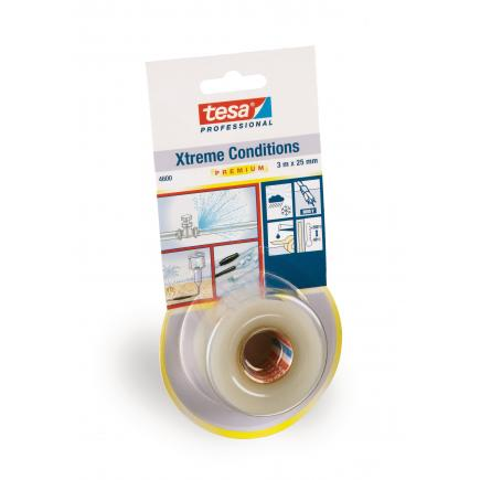 Xtreme Conditions Silicone self-fusing tape - Transparent