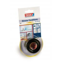 Xtreme Conditions ® Nastro adesivo in silicone autoagglomerante nero 3 mt x 25 mm